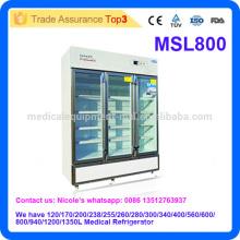 Réfrigérateur de pharmacie de laboratoire médical MSL800i de 2016 le plus récent avec 2 à 8 degrés