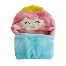 animal baby hooded beach towel