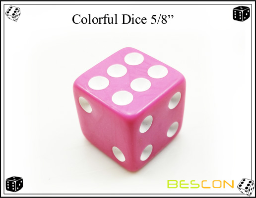 Colorful Dice 16MM