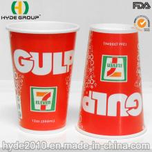 12 oz descartáveis bebida gelada de copo de papel (12 oz)