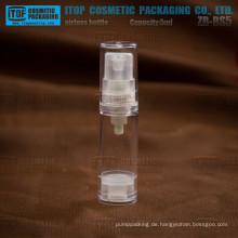 ZB-BS5 5ml Entwarnung natürliche einlagig für Probe Produkte kleine luftlose Flasche 5ml