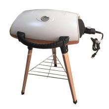 Churrasqueira elétrica para churrasco ao ar livre