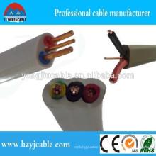 2X2.5 + E Электрический провод для продажи Кабель с плоской землей