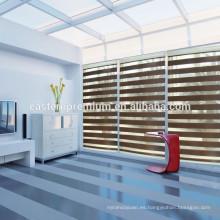 Cortinas de cebra motorizada ventana de la decoración interior de la casa elegante de calidad superior