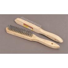 Energia ferramentas acessórios fio escova 4 linha de escovas industriais