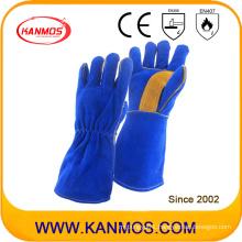 Cowhide Split Leather Industrial Hand Safety Welding Work Gloves (11115)