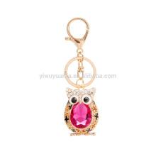 Custom Made Fancy Animals Owl Keychain Electroplate