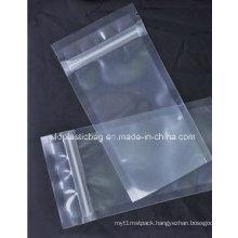 Transparent Zip-Lock Bag for Food Packaging