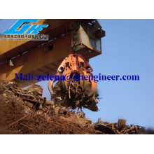 Chatarra de acero Grab Electro Hydraulic Orange Peel Grab