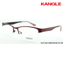 Anteojos con montura de gafas Montura con marcos de metal