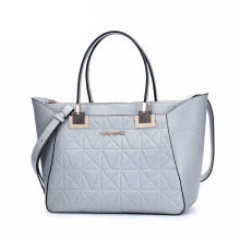 Wholesale Fashion Ladies PU Leather Handbags with City Design (ZX10148)