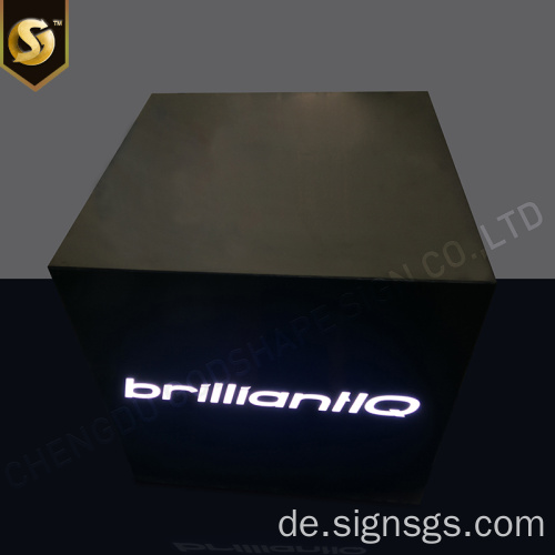 Werbung Super Thin Custom Metal Light Box