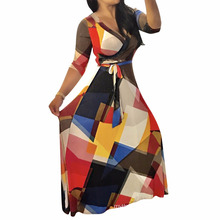 Fashion latest design factory selling sex printed fashion dress