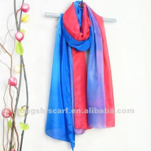 impressão colorida lenços hijabs