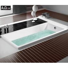 Aokeliya  acrylic new model  italian popular deep soaking bath tub for home