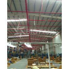 3.8 м (12,5) размер Hvls Electric большим потолочным вентилятором, сделанные в Китае