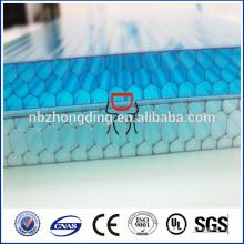 Waben Polycarbonat Blatt wettbewerbsfähigen Preis
