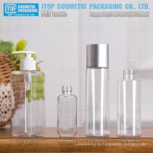 claro de 60ml 120ml 150ml 240ml estilo diferente buena calidad moda sola capa plástico PET botellas por mayor