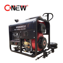 Best Selling 5kVA 5kw 110/230 Volt Portable Diesel Welder Motor Ultrasonic Plastic Welding Generator Machine for Sale