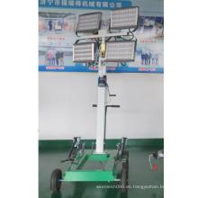 Generador de torres de luz LED portátil para la venta