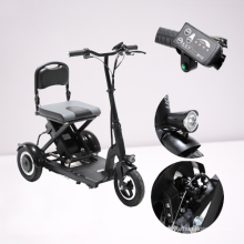 factory supply foldable 3 wheel 3 wheel mobility scooters