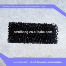 manufatura malha de tela de filtro de malha de tela de carbono ativado