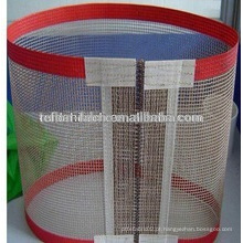 Alta resistência Tempature Não-sticky seda tela correia transportadora