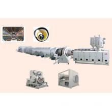 Экструзионная линия для производства труб из ПЭ / ПП16-2000