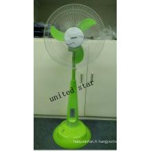 Unitedstar Newest16 '' Ventilateur sur pied avec lumière / MP3