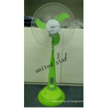 Ventilador do suporte da CC de Unitedstar Newest16 with with com luz / MP3