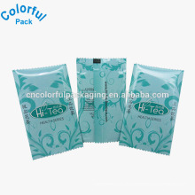 Sachets vides d'emballage de sachet de thé avec la larme / sacs en plastique de mini thé en aluminium de haute qualité