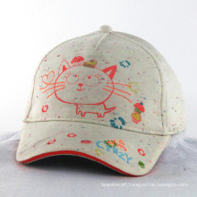 Knitted Fabric Neon Color Children Kids Baby Hat