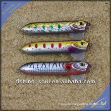 PPL008 11cm 20g Plastic Hard Bait Lure Artifical Popper Lure Artifical Fishing Lure