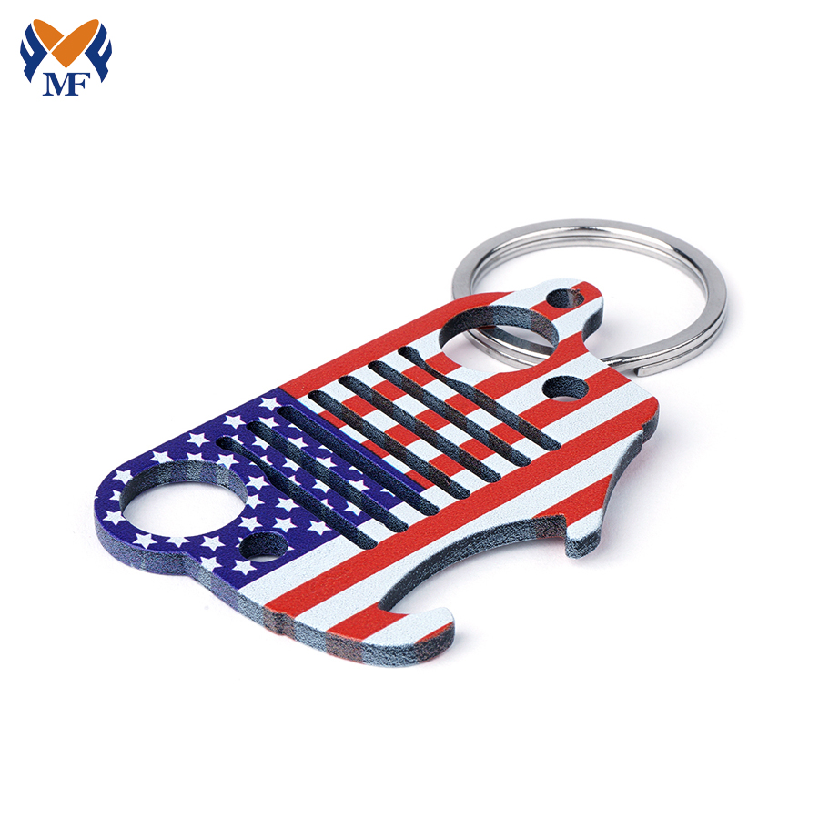 Novelty Bottle Opener Keychain
