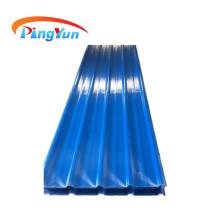 Hoja de techo corrugado transparente de FRP