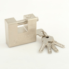Wholesale 74mm High Security Rectangle Steel Padlock with Computer Key