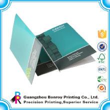 Tamanho A4 papel brilhante personalizado pastas de arquivo por atacado