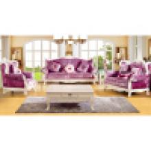 Conjunto de sofá / sofá da sala de estar com moldura de sofá de madeira (992C)