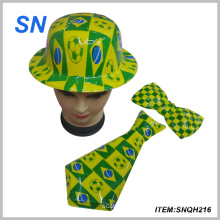 2014 Brazil World Cup PVC Carnival Football Hat