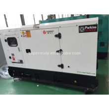 CE ISO 60kva generador diesel con motor UK Perkns 1104A-44TG1