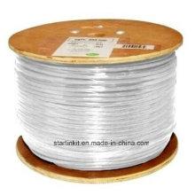 Câble Ethernet à grande vitesse STP blindé CAT6 305 m blanc