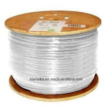 High Speed CAT6 Shielded STP Bulk Ethernet Cable 305m White