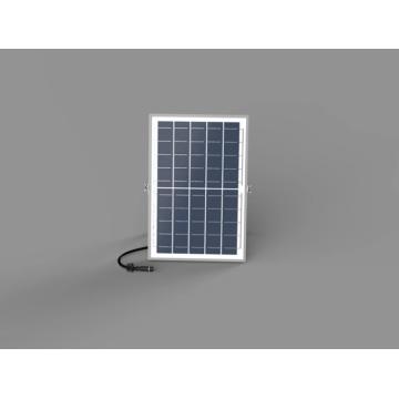 Lámpara de cabeza de columna solar con carcasa negra