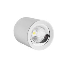 Lámpara de techo LED clásica empotrable marco blanco