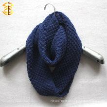 Neue Art und Weise Fall und Winter stricken preiswerten Unendlichkeit Schal für Frauen oder Männer