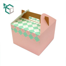 New Design Customized logo Paper Lunch Cake Packaging Box