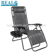 A gravidade zero da cadeira do Lounge da recliner preside a cadeira preta por atacado da gravidade zero