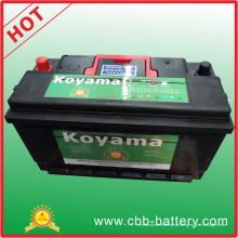 Bateria do caminhão do carro de Koyama 12V 100ah Mf DIN100