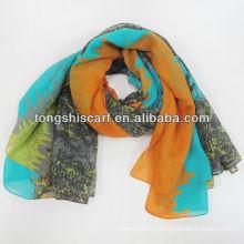 Новая мода зимних холодов шарф