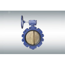 Bronze Butterfly Valve with Gearbox